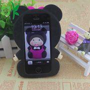 3D carton silicone phone case